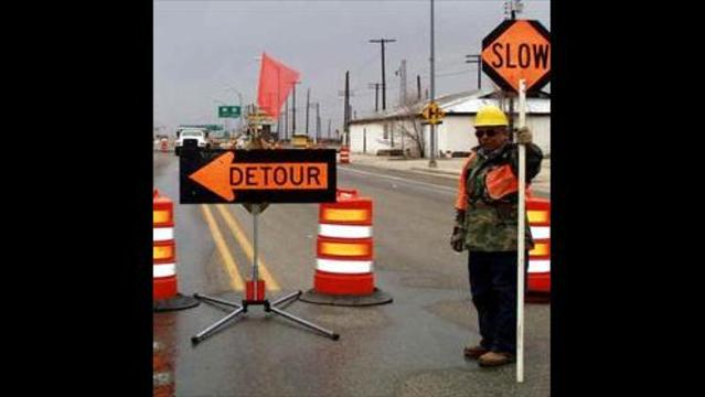 Temporary Detours Due to Big Rock Construction Start Saturday