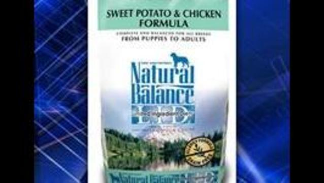 Natural Balance Pet Foods recalling certain packages of dog food