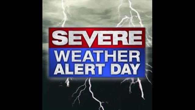 Severe Weather Likely Today