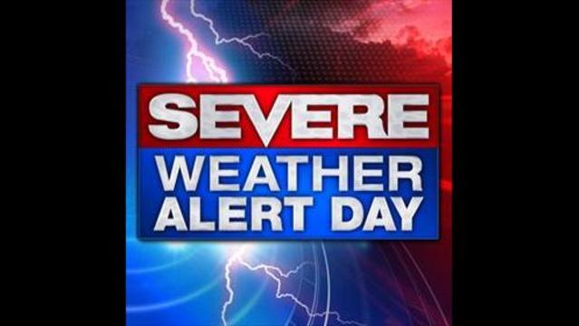 Sunday Severe Weather Alert Day