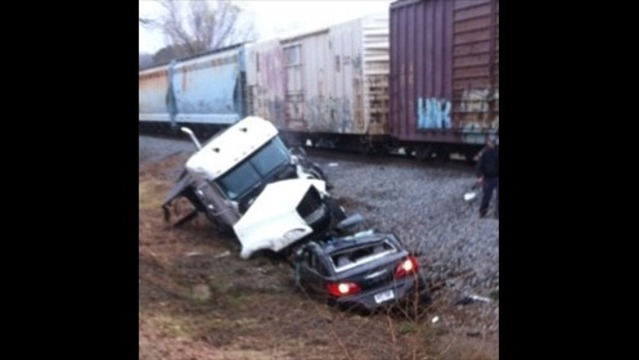 Man Survives Collision With Train