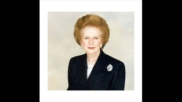 Margaret Thatcher, Britain's First Woman PM, Dies