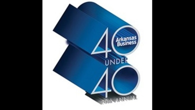 Dale Dawkins speaks at 20th Annual Arkansas Business 40 Under 40 Luncheon