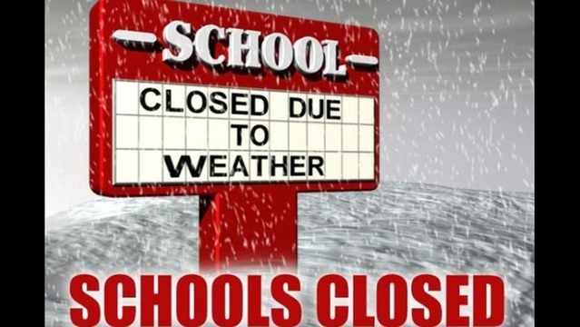 LRSD, NLRSD, and PCSSD Closed Tuesday