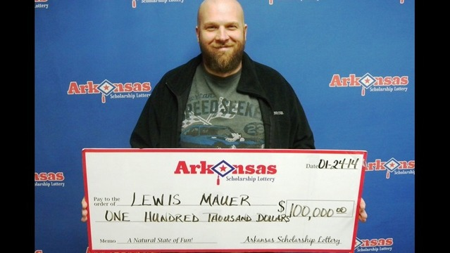 $100K Lottery Prize for Logan County Man