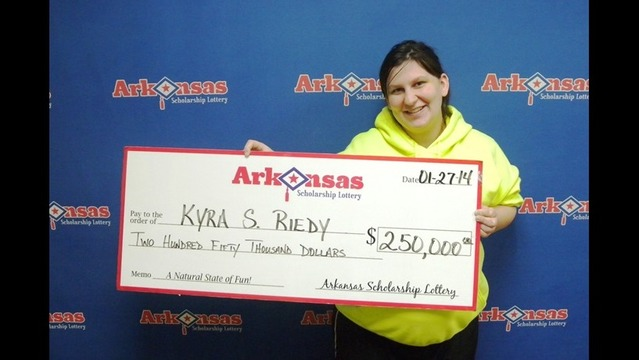 Lucky Arkansans Win Thousands and More from Lottery