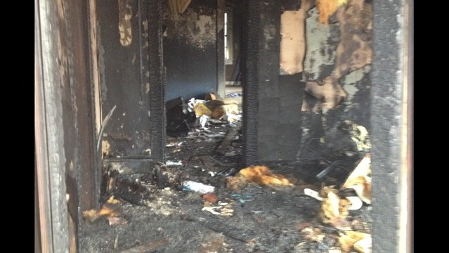 Fire Destroys North Little Rock Home