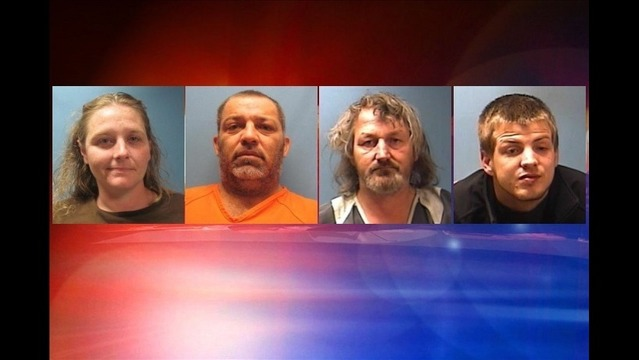 Four Arrested in Lawrence Co. Drug Investigation