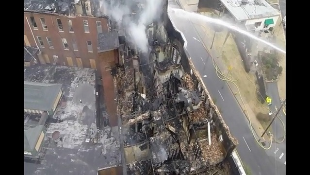 Even After Demolition, Hotel Fire Investigation Continues