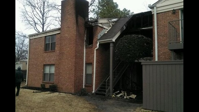 Early Morning Fire Damages Apartments in Little Rock