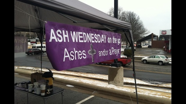 'Ashes On The Go' Event Held In Little Rock