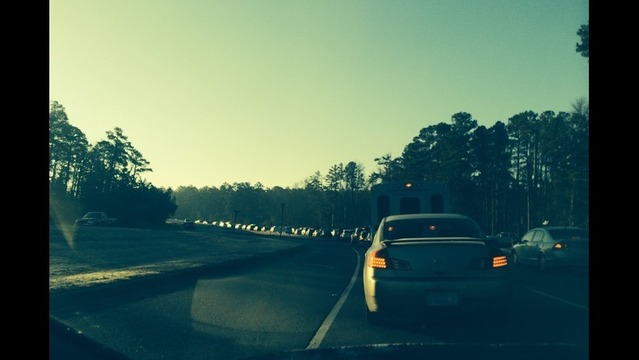 Massive Delay on Interstate 430 for Rush Hour Traffic