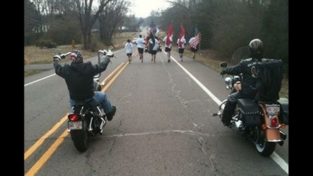 140 Mile Run for the Fallen Honoring Arkansas Service Members