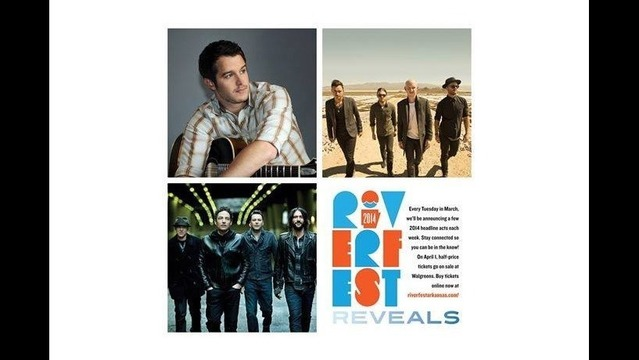 Coming to Riverfest: The Fray, The Wallflowers & Easton Corbin