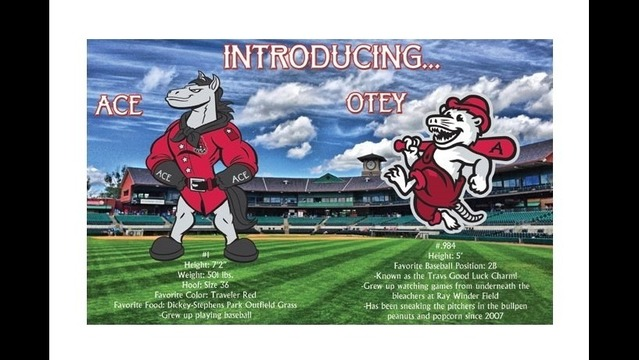 Say Hello to Arkansas Travelers New Mascots Ace and Otey