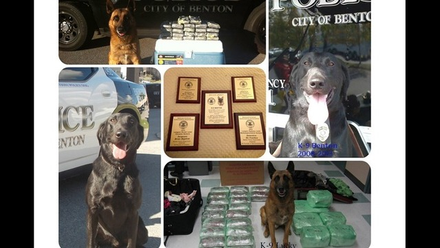 Officers and their K-9's Nationally Honored