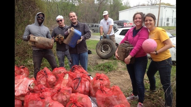 Volunteers Collect 85 Bags Of Trash At Fourche Creek