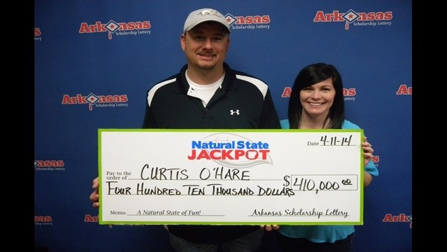 Natural State Jackpot: Lonoke Man Wins Record Breaking $410,000