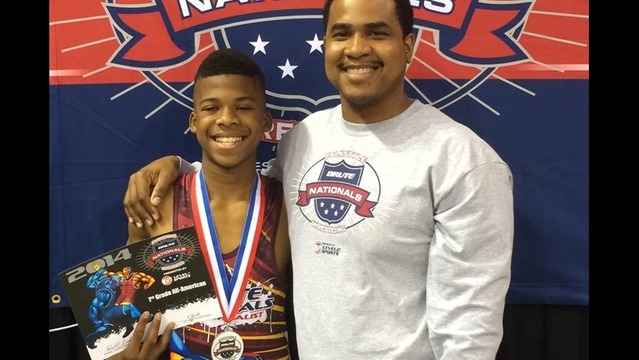 Little Rock Blind Wrestler Medals Silver In National Championship