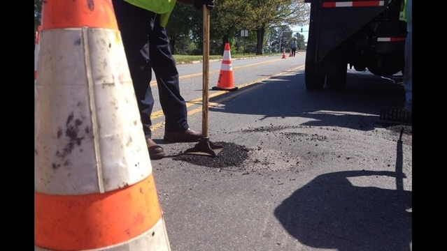The City of Little Rock is on Pothole Patrol