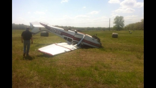 Plane Crash in White County Leaves Two With Minor Injuries