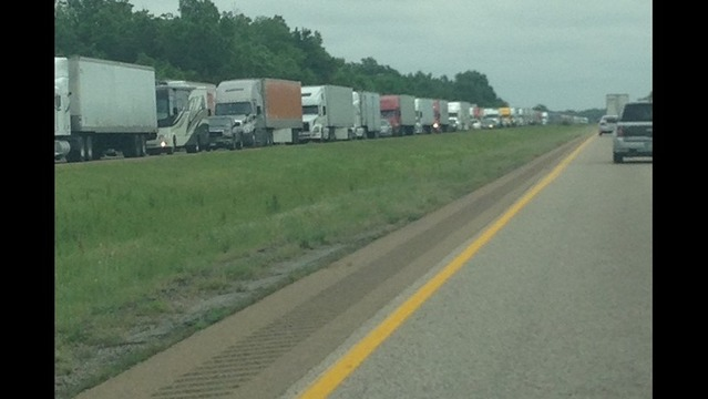 AHTD: Accident on Interstate 40 Diverting Traffic Near Memphis