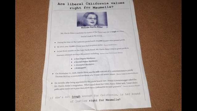 Candidate Speaks Out Against Mysterous Attack Mailer