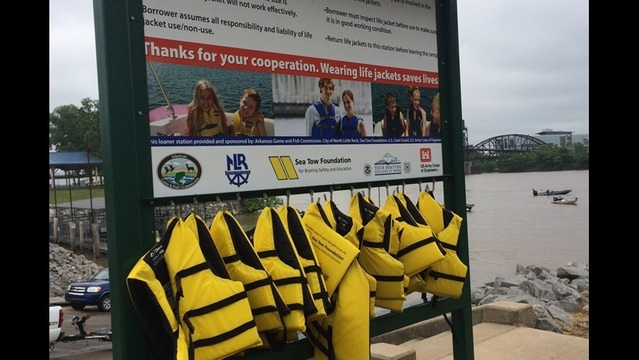 New Life Jacket Loaning Station Keeps Arkansans Safe