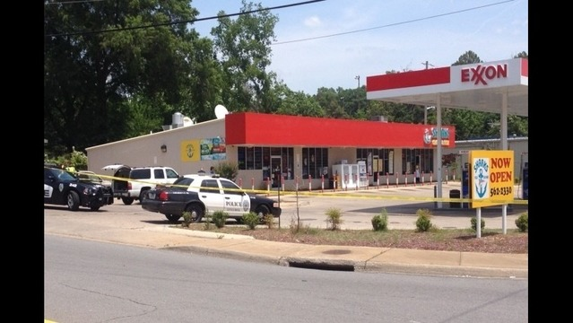 Shootout at Exxon on John Barrow Road
