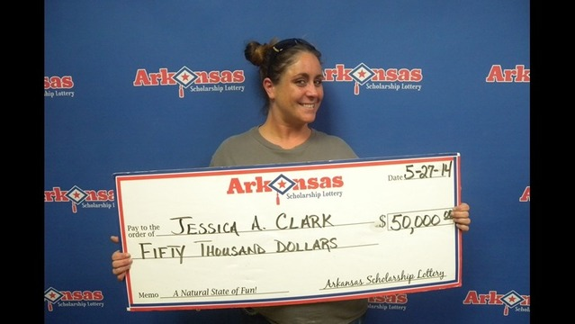 NLR Woman Wins $50,000 from Arkansas Lottery