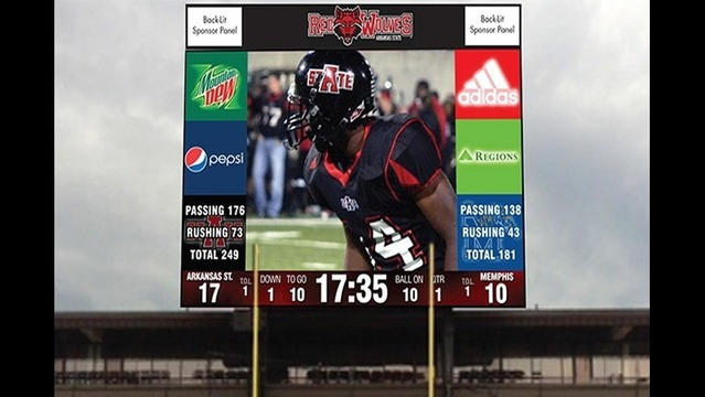 Arkansas State University Getting New Video Display, Sound System