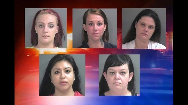 Fayetteville Prostitution Ring Busted, 6 Women Arrested