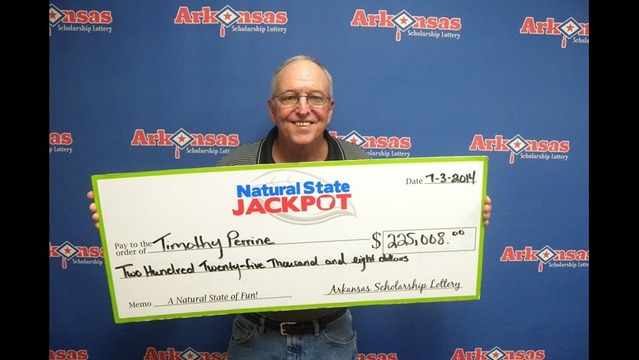 Hot Springs Man is $225K Natural State Jackpot Winner