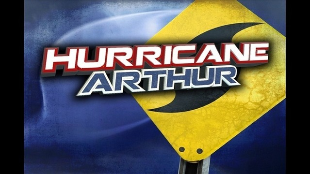 Hurricane Arthur Strengthens over Atlantic, Forecasted to Become Category 2