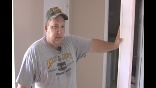 Disabled Veteran Upset Over Contractors' Job