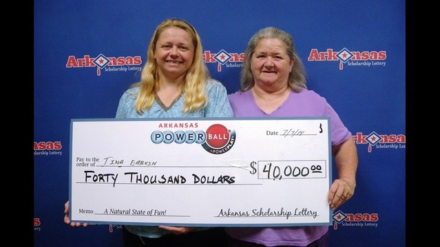 $40,000 Powerball Win for McGehee Woman