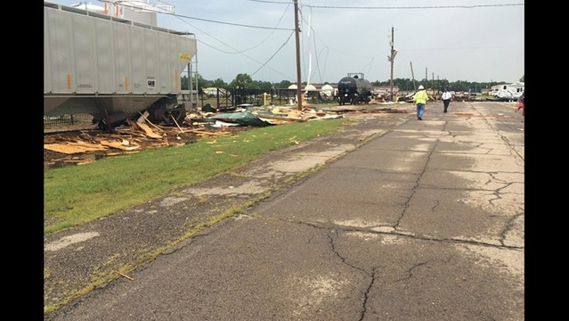 20-25 Fort Chaffee Buildings Damaged in Storms