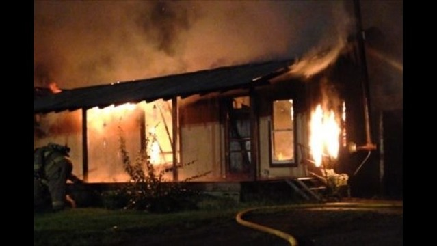 Fire Destroys House in Pope County Sunday Morning