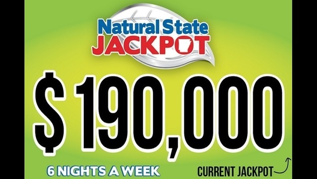 Natural State Jackpot at $190,000 for Aug. 8 Draw