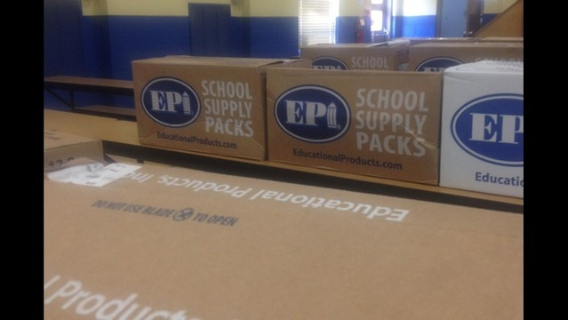 Back To School Packs At PCSSD