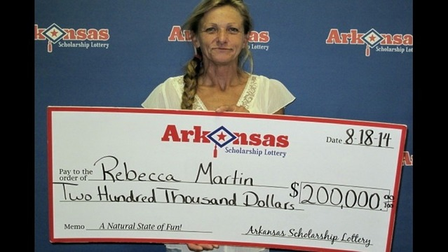 Mountain Home Woman Wins $200,000 Lottery Prize