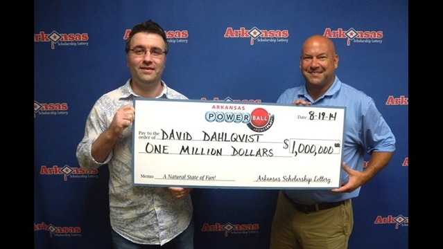 Millon-Dollar Lottery Win for Bella Vista Man
