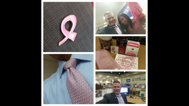 Kevin Kelly and Real Men Wear Pink on-air kickoff
