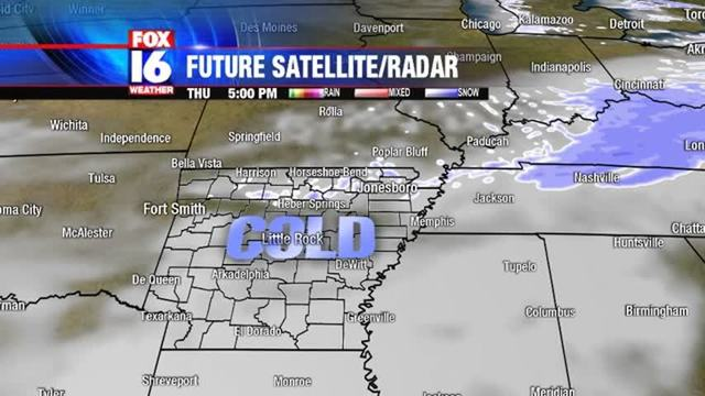 Possible Freezing Drizzle, Snow Flurries Coming - Story | Fox16