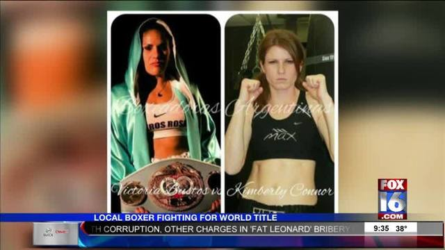 Local Boxer Fighting For Female IBF World Title