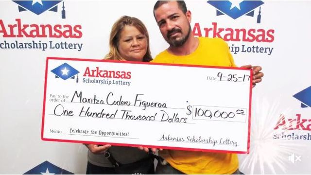 AR Lottery Winner Plans to Help Hurricane Victims