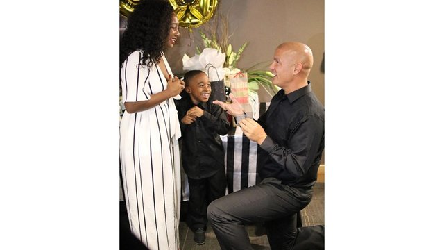 Popular Police Officer Pops the Question!