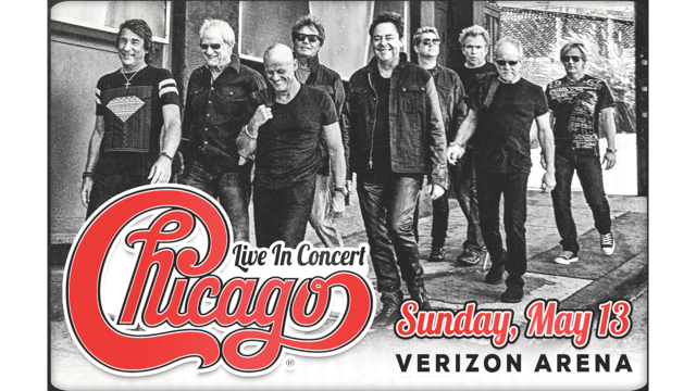 Chicago Performs in May 2018 at Verizon Arena