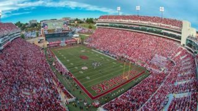 Hog Game Helicopters Flyover Saturday