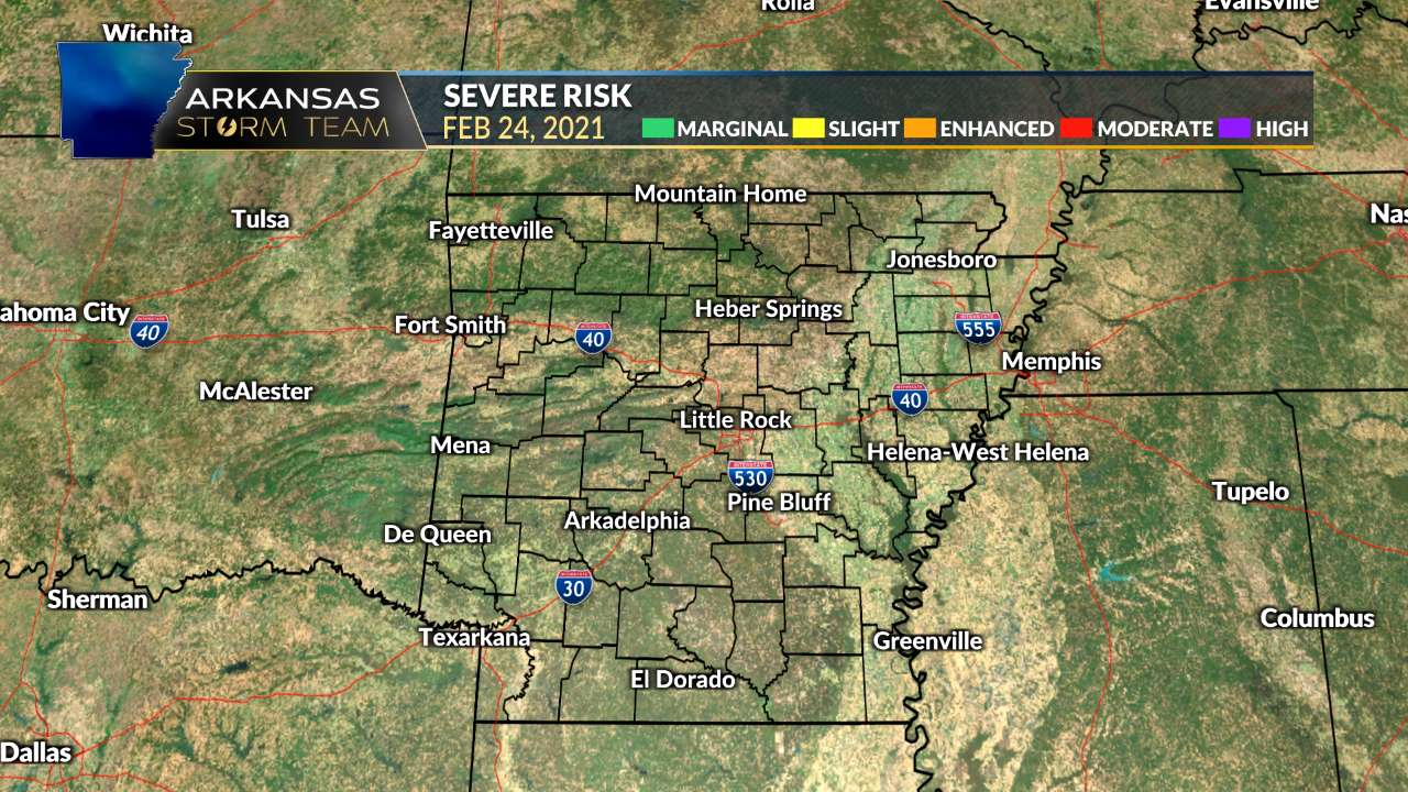 Severe Outlook Today